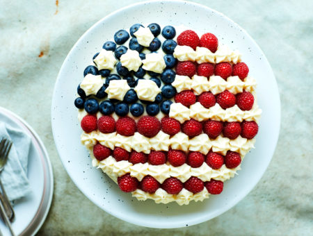 Butter Cake (4th of July)