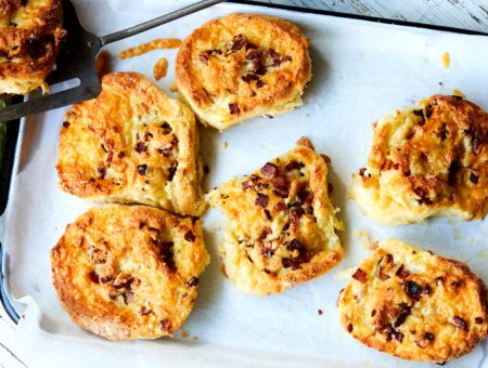 Low FODMAP Cheese and Bacon Scrolls