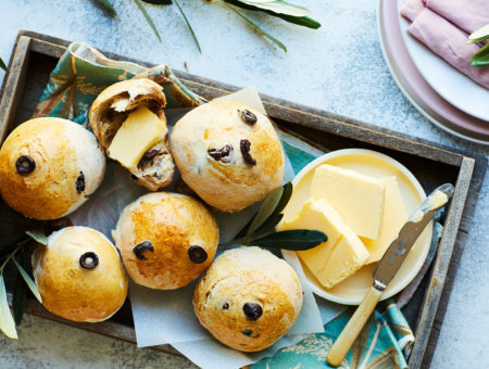 Olive and Thyme Rolls