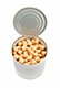 Canned chick peas/butter beans ¼ cup