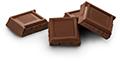 Milk chocolate (up to 4 squares)