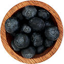 punnet blueberries