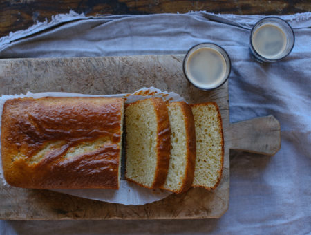 Lemon Yoghurt Loaf Cake