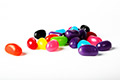 Small serve of lollies jelly beans/snakes