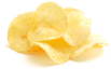 Plain salted potato