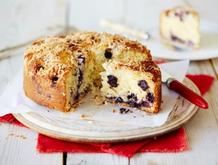 Blueberry Coconut Cake