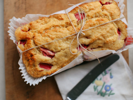 Strawberry Coconut Loaf